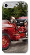 Fireman - Phoenix No2 Stroudsburg Pa 1923  IPhone Case by Mike Savad
