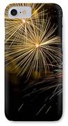 Fireworks 20 IPhone Case by Sandy Swanson
