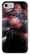 Fireworks 9 IPhone Case by Sandy Swanson