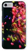 Fireworks At Night 4 IPhone Case by Lanjee Chee