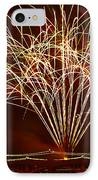 Fireworks At Tempe Town Lake  IPhone Case by Saija  Lehtonen