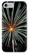Fireworks Bursts Colors And Shapes 2 IPhone Case by SC Heffner