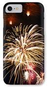 Fireworks IPhone Case by Elena Elisseeva