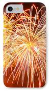 Fireworks Flower IPhone Case by Robert Hebert
