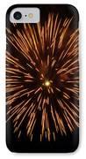 Fireworks Shell Burst IPhone Case by Jay Droggitis