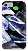 Firmament Cracked #1 Confusing Dark And Light IPhone Case