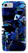 Firmament Cracked #9 - All Which Once Was Beautiful IPhone Case by Mathilde Vhargon