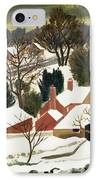 First Fall IPhone Case by Eric Hains
