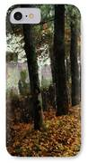 First Signs Of Autumn IPhone Case