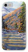 First Snow By Prankearts IPhone Case by Richard T Pranke