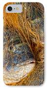 Fish On The Net IPhone Case by Stelios Kleanthous
