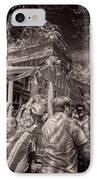 Fisherman's Feast North End Of Boston IPhone Case by Joann Vitali