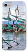 Fishing Boats In Bali IPhone Case