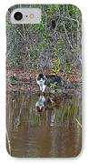 Fishing Feline IPhone Case
