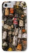 Fishing Gear Cape Neddick Maine IPhone Case by Thomas Schoeller