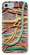 Fishing Ropes And Net IPhone Case