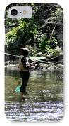 Fishing The Wissahickon IPhone Case