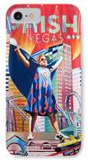 Fishman In Vegas IPhone Case by Joshua Morton