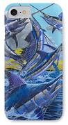 Five Billfish Off00136 IPhone Case by Carey Chen