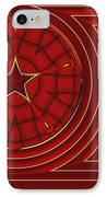 Flagged IPhone Case by Wendy J St Christopher