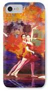 Flamenco Dancer 022 IPhone Case by Catf
