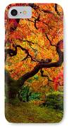 Flaming Maple IPhone Case