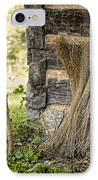 Flax IPhone Case by Heather Applegate