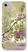 Fleurs Du Champ IPhone Case by Tamyra Crossley