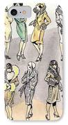 Flirty Flappers IPhone Case by Mel Thompson