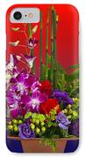 Floral Arrangement IPhone Case by Chuck Staley