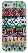Floral Fiesta- Colorful Pattern Painting IPhone Case