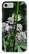 Flower And Leaf IPhone Case by Esther Wilson