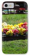 Flower Bed IPhone Case by Holly Blunkall