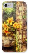 Flower - Lily - Yellow Lily  IPhone Case by Mike Savad