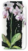 Flower Orchid 02 Elena Yakubovich IPhone Case by Elena Yakubovich
