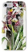 Flower Orchid 03 Elena Yakubovich IPhone Case