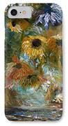 Flower Rain IPhone Case