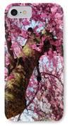 Flower - Sakura - Finally It's Spring IPhone Case by Mike Savad