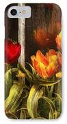Flower - Tulip - Tulips In A Window IPhone Case