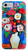 Flowers And Colors IPhone Case by Ana Maria Edulescu