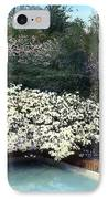 Flowers And Pool IPhone Case