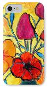 Flowers Of Love IPhone Case by Ana Maria Edulescu