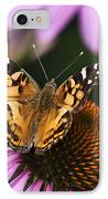 Fluttering Breeze Butterfly IPhone Case by Christina Rollo