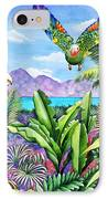 Flying Colours IPhone Case by Carolyn Steele