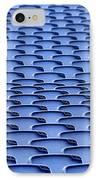 Folding Plastic Blue Seats IPhone Case