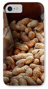Food - Peanuts  IPhone Case by Mike Savad
