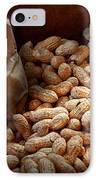 Food - Peanuts  IPhone Case by Mike Savad