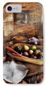 Food - The Start Of A Healthy Meal  IPhone Case by Mike Savad
