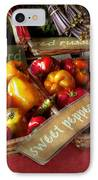 Food - Vegetables - Sweet Peppers For Sale IPhone Case