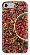 Foraged Rose Hips IPhone Case